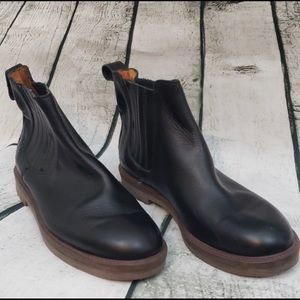 Madewell chelsea boots